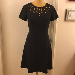 ADRIANNA PAPELL sheath cut out dress — Goth!